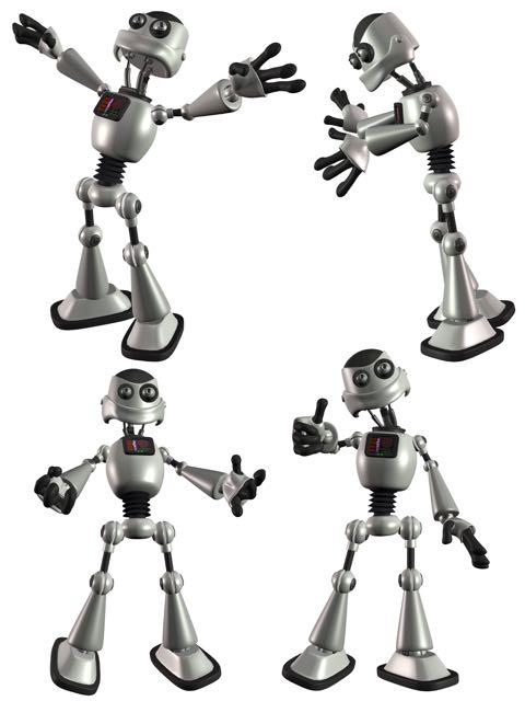 Robot performing